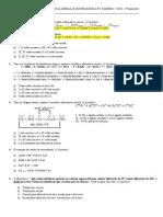 Prova b de Quimica Geral Unig 2014 p2