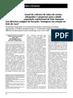Composição Nutricional Do Colostro de Mães de Recém- Nascidos de Termo Adequados e Pequenos Para a Idade Gestacional.