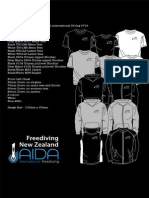 Freediving New Zealand Design Mock Ups