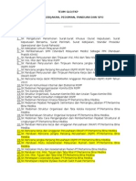 Daftar SK, Panduan, Pedoman Dan SPO Team GLD