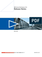 Release of Bmc Service Desk Express Version 10