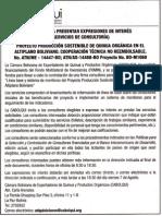 Invitación a Presentar Expresiones de Interes Servicios de Consultoria Proyecto Producción Sostenible de Quinua Orgánica en El Altiplano Boliviano-CABOLQUI_laquinua.blogspot.com