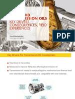 Transmission Oils for Transport Mining