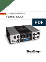 Tecamp Puma 1000