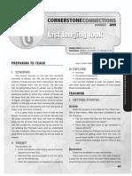 3rd Quarter 2015 Lesson 5 CornerstoneConnections Teacher's Guide