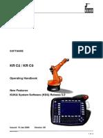KUKA KR C2 KR C3 Operating Handbook
