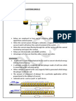 Electrical Actuation System