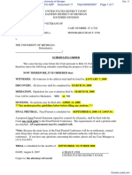Michigan Paralyzed Veterans of America v. University of Michigan - Document No. 11