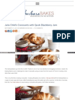 Www Barbarabakes Com Julia Childs Croissants With Quick Blac