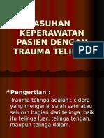 Askep Trauma Telinga (Pak nur hamid RSUD)