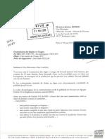 Avis déontologique de la commission règles et usages n° 2015-019 ...