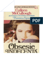 Colleen McCullough Obsesie Indecenta