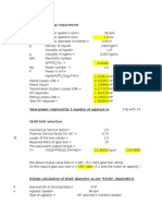 Agitator Calculation
