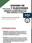 Periodismo de Datos y Elecciones - presentación