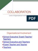 interactive collaboration level of organisational involvement