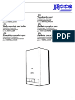 Manual Caldera Roca Rs 20-20 Instalador
