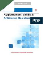 Aggiornamenti Dal BMJ - Resistenza Antibiotica