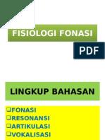 FISIOLOGI FONASI