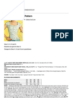 Crochet Patterns - Lacy Torso Blouse Pattern - 2013-06-02