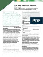 Management of Acute Upper Git Bleeding