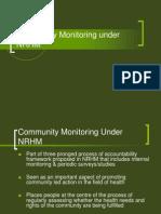 Community Monitoring Under NRHM