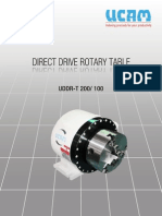 Direct Drive Rotary Table Brochure