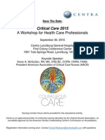 Lynchburg_Critical Care 2015_Save the Date 2015 AACN