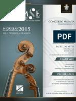Calendario de Programación XI FIAPMSE - 2015