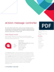 Acision Message Controller Fact Sheet v10