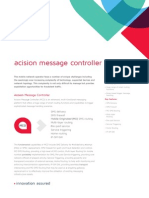 Acision Message Controller Fact Sheet v10