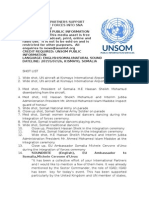 UN AND PARTNERS SUPPORT INTEGRATION OF FORCES INTO SNA