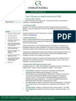10 Things About FIDIC