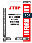 TTIP- Consecuencias en el empleo y en los derechos laborales