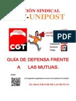 Guia defensa ante las Mutuas de CGT Unipost