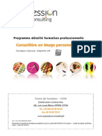 Formation Intensive Conseillère en Image 2015
