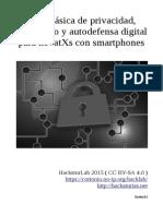 Guía básica de privacidad, anonimato y autodefensa digital para novatXs con smartphones