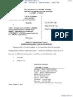 McDonald's Corporation et al v. China Retail Management Limited et al - Document No. 9