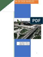 diseño de una carretera a desnivel (propuestas)