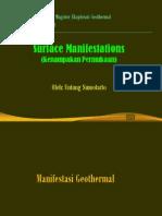 Surface Manifestations