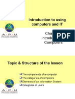 Chapter01 - Introduction to Using Computers and IT