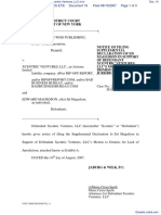 Cambridge Who's Who Publishing, Inc. v. Xcentric Ventures, LLC et al - Document No. 16