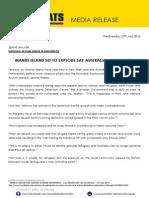 Manus Island Set to Explode Say Democrats