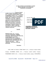 Word Music, LLC et al v. Priddis Music, Inc. et al - Document No. 65