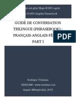 Résumé des chapitres du livre GUIDE DE CONVERSATION TRILINGUE (PHRASEBOOK)