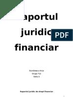 Raportul Juridic Dr F