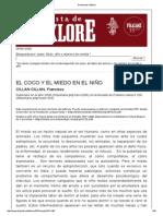El Coco y El Miedo en El Niño