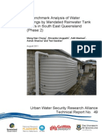 UWSRA-tr49 Benchmark Analysis of Water Savings
