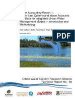 UWSRA-tr36 Water Account- Urban Management Modelling
