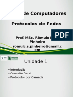 Protocolo de Redes - Aula 01