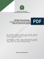 Documento Pátria Educadora